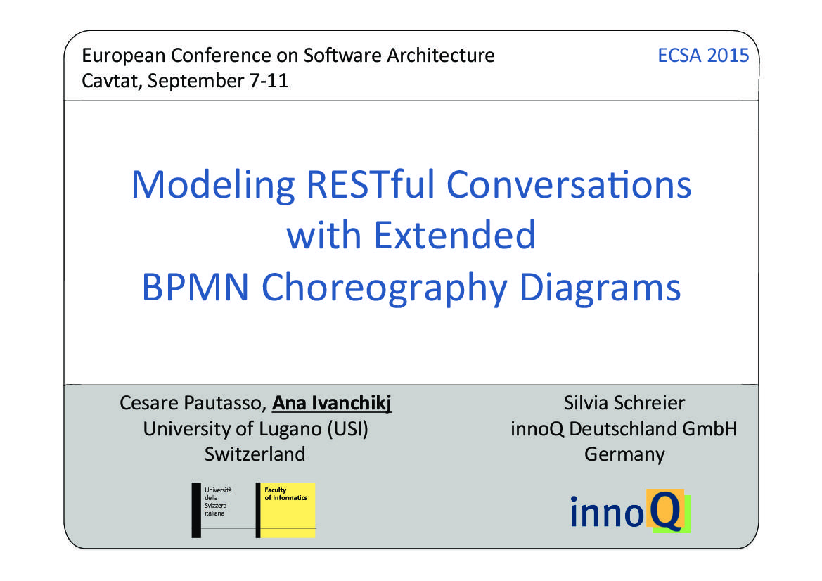 Modeling Restful Conversations With Extended Bpmn